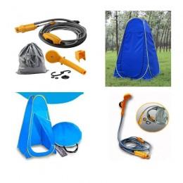 Instant Bath Tent and Portable Shower