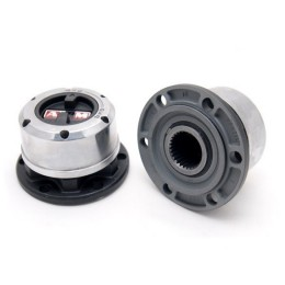 Nissan manual free wheel hubs